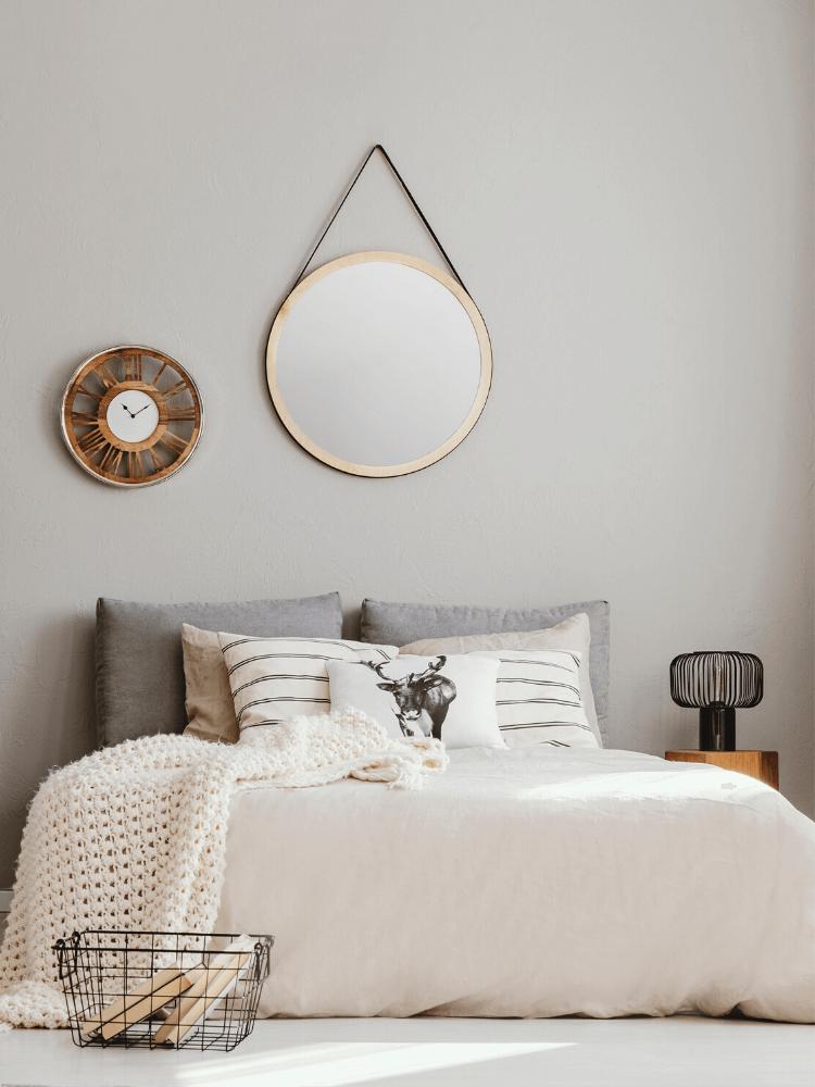 Scandinavian bedroom decor
